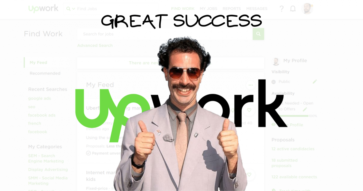 How to be successful on Upwork